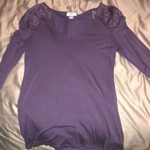Purple old navy long sleeve